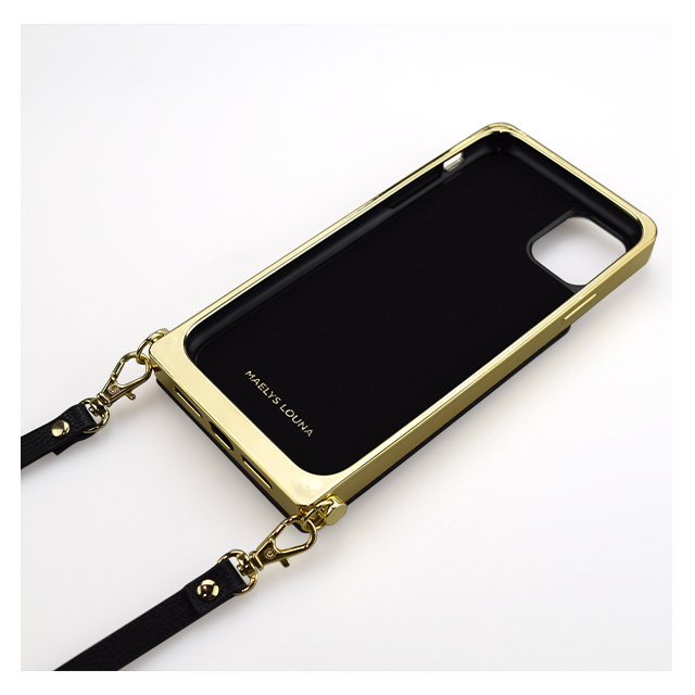 【iPhone11 ケース】Cross Body Case for iPhone11 (black)サブ画像