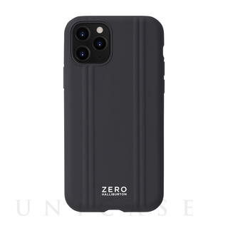 【iPhone11 Pro ケース】ZERO HALLIBURTON Hybrid Shockproof case for iPhone11 Pro (Black)