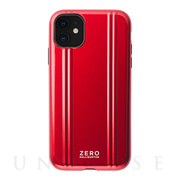 【iPhone11 ケース】ZERO HALLIBURTON Hybrid Shockproof case for iPhone11 (Red)