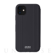 【iPhone11 ケース】ZERO HALLIBURTON Hybrid Shockproof Flip case for iPhone11 (Black)