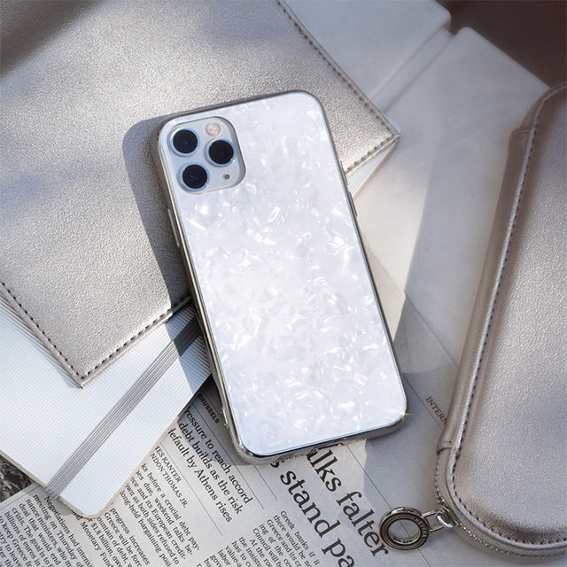 【iPhone11 Pro ケース】Glass Shell Case for iPhone11 Pro (white)サブ画像