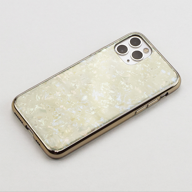 【iPhone11 Pro ケース】Glass Shell Case for iPhone11 Pro (gold)サブ画像