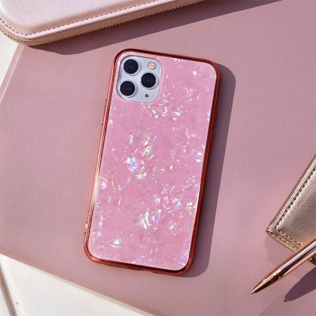 【iPhone11 Pro ケース】Glass Shell Case for iPhone11 Pro (pink)goods_nameサブ画像