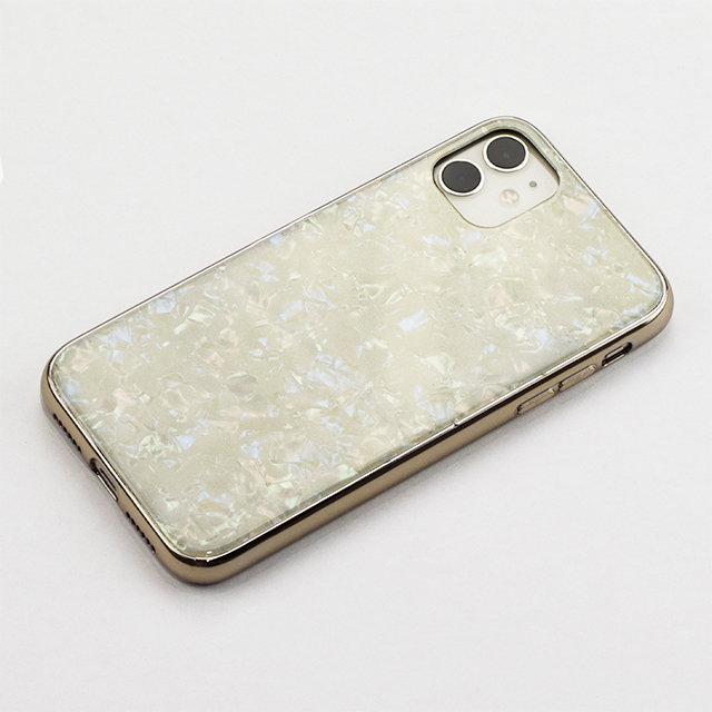 【iPhone11/XR ケース】Glass Shell Case for iPhone11 (gold)サブ画像