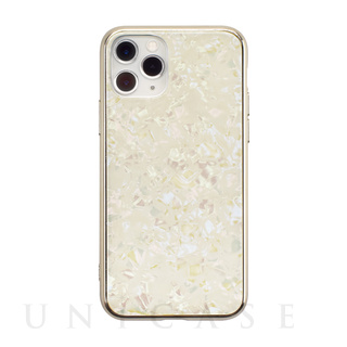 【iPhone11 Pro ケース】Glass Shell Case for iPhone11 Pro (gold)