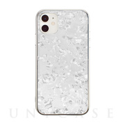 【iPhone11/XR ケース】Glass Shell Case for iPhone11 (white)