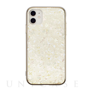 【iPhone 11 ケース】Glass Shell Case for 2019 New iPhone 6.1 inch (gold)