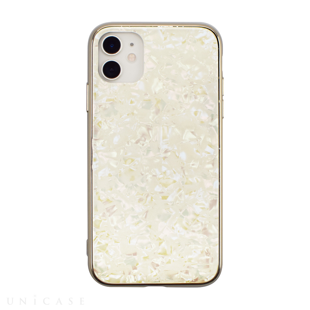 【iPhone11/XR ケース】Glass Shell Case for iPhone11 (gold)