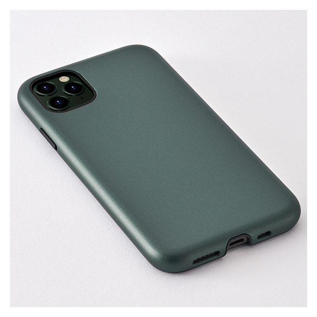 【iPhone11 Pro ケース】Smooth Touch Hybrid Case for iPhone11 Pro (green)サブ画像