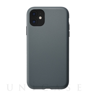 【iPhone11/XR ケース】Smooth Touch Hybrid Case for iPhone11 (blue gray)
