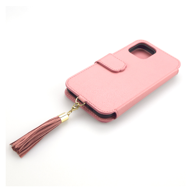 【iPhone11 Pro ケース】Tassel Tail Cat Flip Case for iPhone11 Pro (pink)サブ画像
