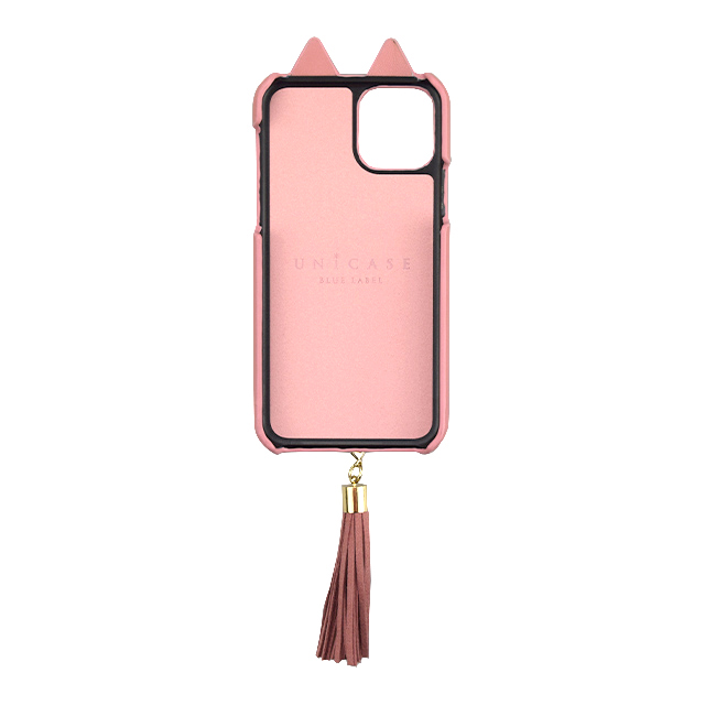【iPhone11/XR ケース】Tassel Tail Cat Case for iPhone11 (pink)サブ画像