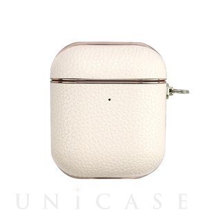 【AirPods ケース】AirPods Case(white leather)