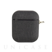 【AirPods ケース】AirPods Case(gray fabric)