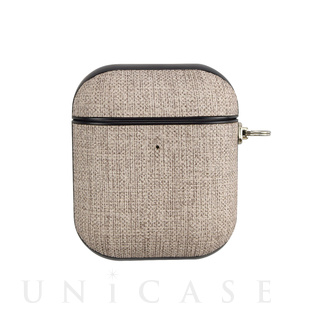 【AirPods ケース】AirPods Case(brown fabric)