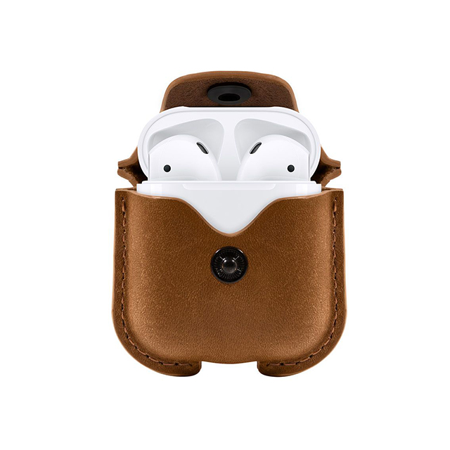 【AirPods ケース】AirSnap for AirPods (Cognac)サブ画像