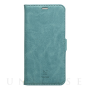 【iPhone11 Pro ケース】手帳型ケース Style Natural (Turquoise)