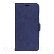 【iPhone11 ケース】手帳型ケース Style Natural (Blue)
