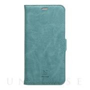 【iPhone11 Pro Max ケース】手帳型ケース Style Natural (Turquoise)