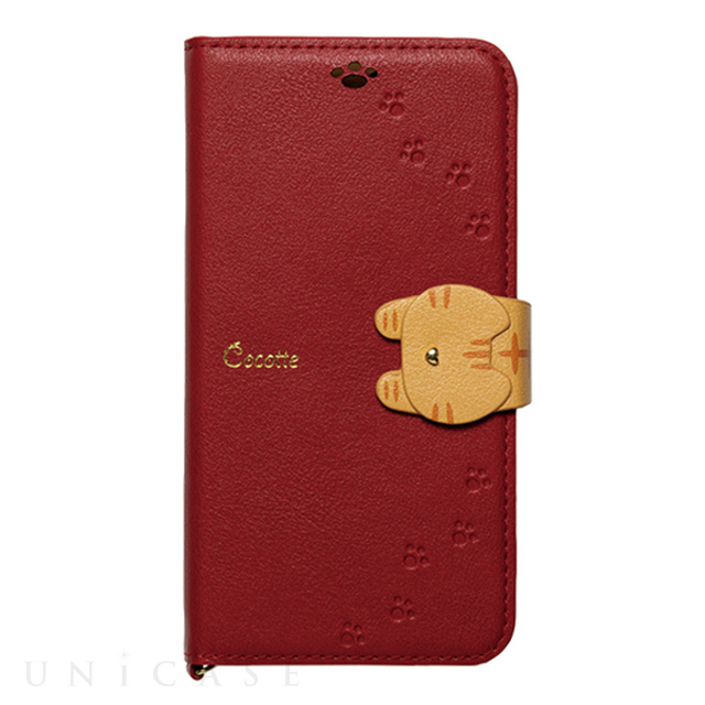 【iPhone11 Pro ケース】手帳型ケース Cocotte (Red)