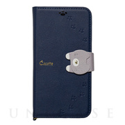 【iPhone11 Pro ケース】手帳型ケース Cocotte (Navy)