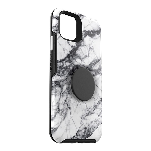 【iPhone11 ケース】Otter + Pop Symmetry (WHITE MARBLE)
