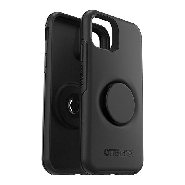 【iPhone11 ケース】Otter + Pop Symmetry (BLACK)サブ画像