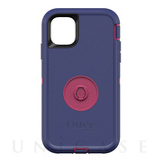 【iPhone11 ケース】Otter + Pop Defender (GRAPE JELLY)