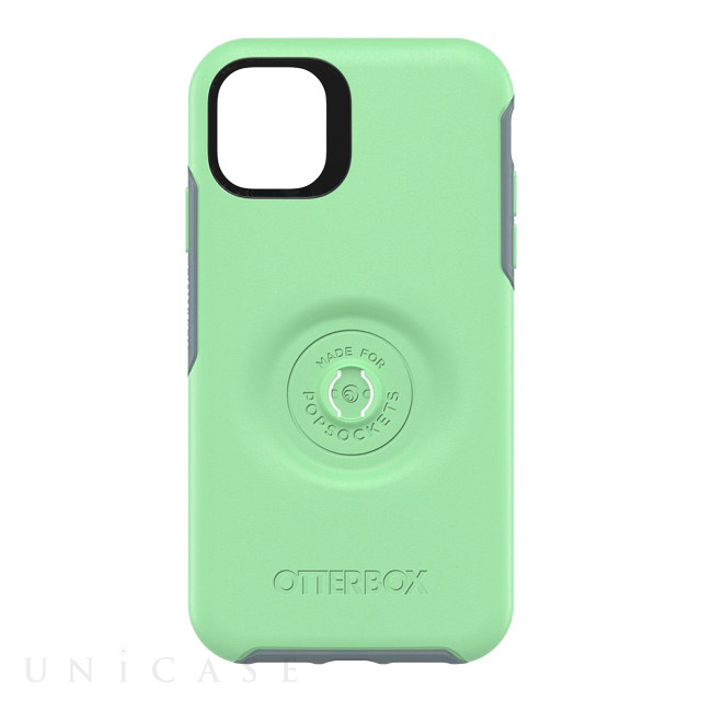 【iPhone11 Pro Max ケース】Otter + Pop Symmetry (MINT TO BE)