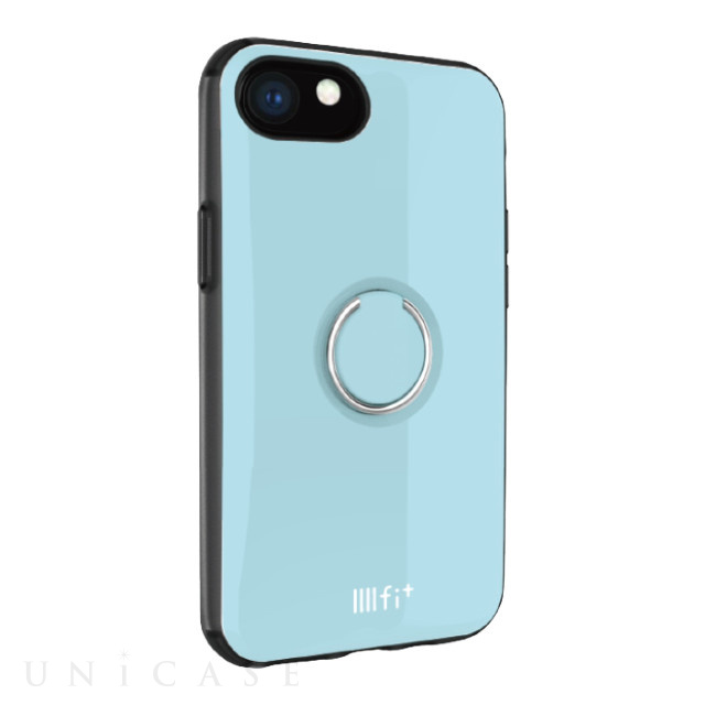 【iPhone8/7/6s/6 ケース】IIII fit リング (ライトブルー)