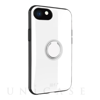 【iPhone8/7/6s/6 ケース】IIII fit リング (ホワイト)