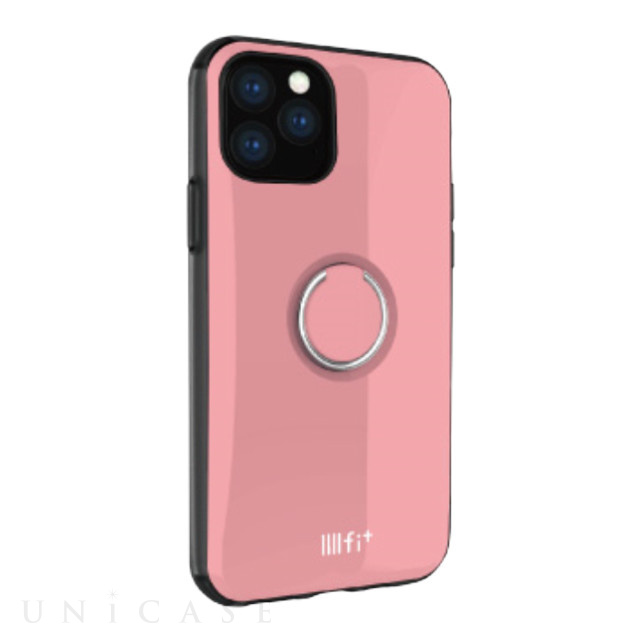 【iPhone11 Pro ケース】IIII fit リング (ピンク)