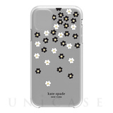 【iPhone11 ケース】Protective Hardshell -SCATTERED FLOWERS BK/WH/GG/CL