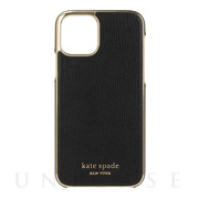 【iPhone11 Pro ケース】INLAY WRAP -black pu