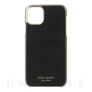 【iPhone11 Pro Max ケース】INLAY WRAP -black pu