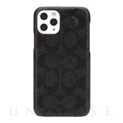 【iPhone11 Pro ケース】SLIM WRAP CASE SIGNATURE C WRAP (Black)
