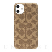 【iPhone11 ケース】SLIM WRAP CASE SIGNATURE C WRAP (Khaki)