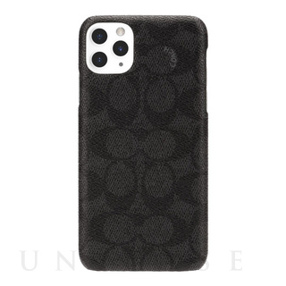 【【iPhone11 Pro Max ケース】SLIM WRAP CASE SIGNATURE C WRAP (Black)
