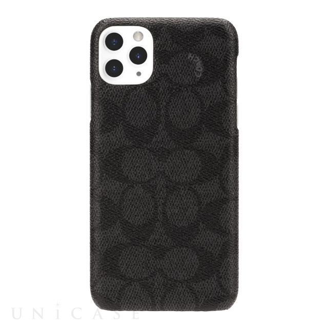 【iPhone11 Pro Max ケース】SLIM WRAP CASE SIGNATURE C WRAP (Black)