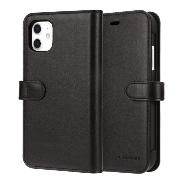 【iPhone11 ケース】LEATHER WALLET CASE (MIDNIGHT BLACK) Leather Folioサブ画像