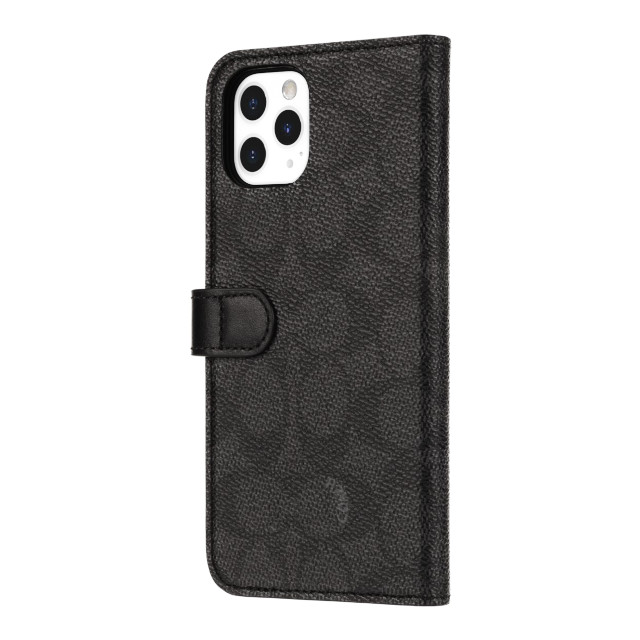【iPhone11 Pro ケース】WALLET CASE SIGNATURE C FOLIO (Black)サブ画像