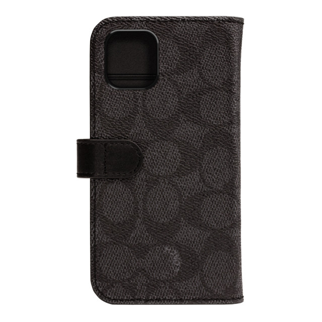 【iPhone11 ケース】WALLET CASE SIGNATURE C FOLIO (Black)サブ画像