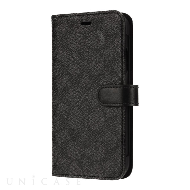 【iPhone11 ケース】WALLET CASE SIGNATURE C FOLIO (Black)