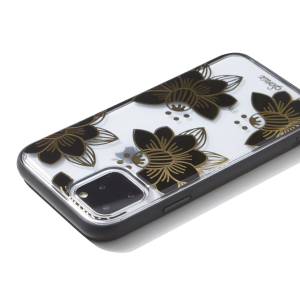 【iPhone11 Pro ケース】CLEAR COAT (DESERT LILY (BLACK))サブ画像