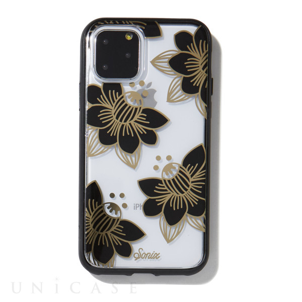 【iPhone11 Pro ケース】CLEAR COAT (DESERT LILY (BLACK))