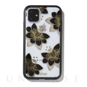 【iPhone11 ケース】CLEAR COAT (DESERT LILY (BLACK))