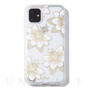 【iPhone11 ケース】CLEAR COAT (DESERT LILY (WHITE))