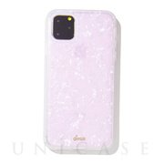 【iPhone11 Pro Max ケース】CLEAR COAT (PINK PEARL TORT)