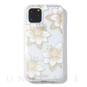 【iPhone11 Pro Max ケース】CLEAR COAT (DESERT LILY (WHITE))