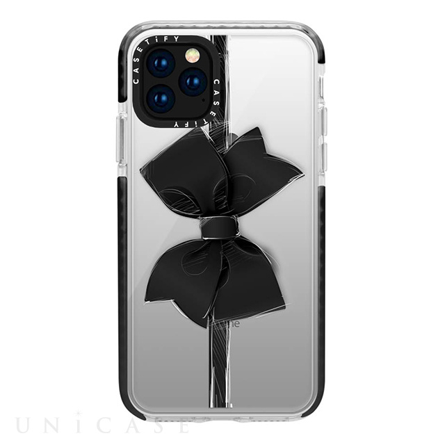 【iPhone11 Pro ケース】Impact Case (Black Bow/Black)
